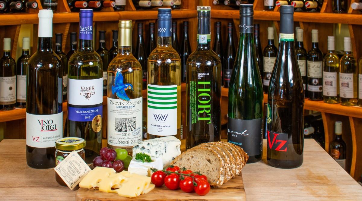 Veltlínské zelené - naše nabídka odrůdy vína Veltlínské zelené