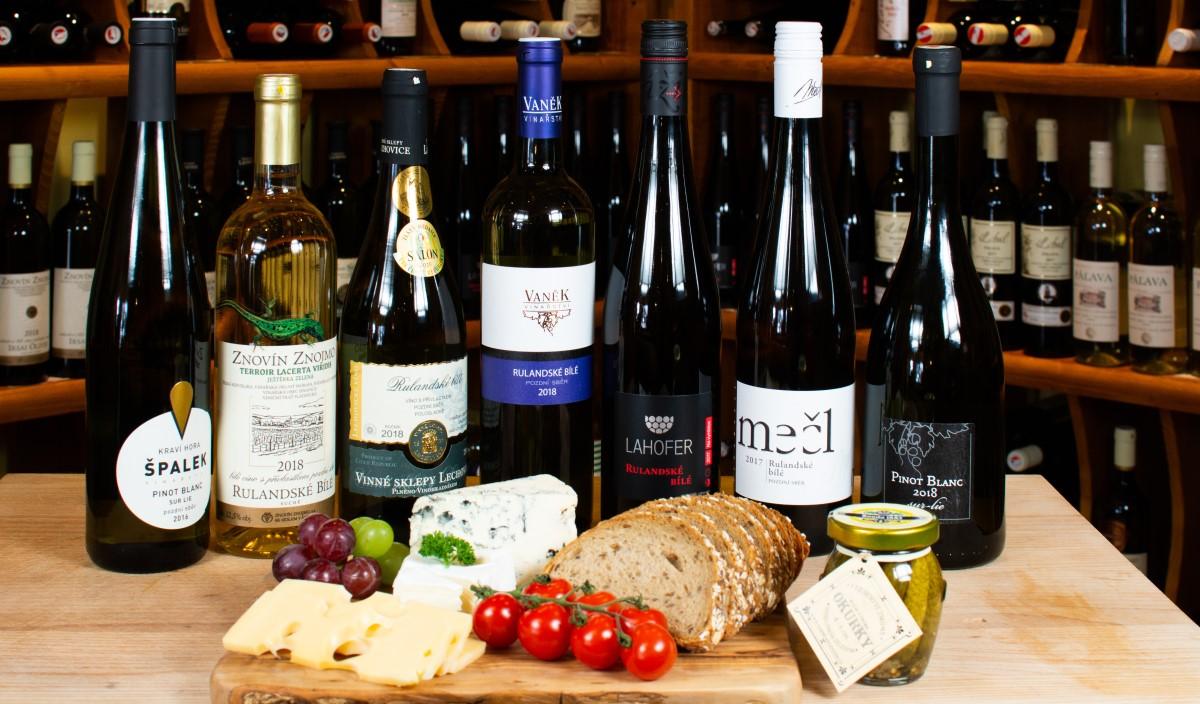 Rulandské bílé - naše nabídka odrůdy vína Rulandské bílé